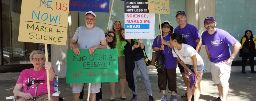 Full group for March for Science