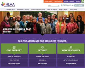 The new HLAA website