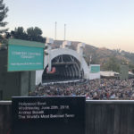 Captions at Hollywood Bowl. Photo by Nancy Mullen Gray