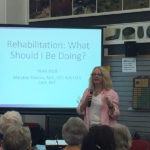 Rehabilitation - What should you be doing? as shared by Heather.