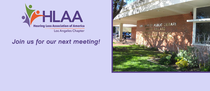 November 3 meeting is coming up!