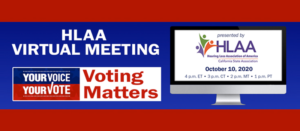 Voting matters October 10 webinar