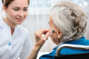 Caring for hearing of hearing elders image