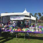 Plenty of colorful raffle prizes!
