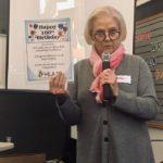 Nanci sharing a poem celebrating Grace from HLAA National!